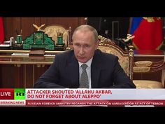 'We need to know who gave the orders': Putin comments on ambassador assassination in Ankara - YouTube