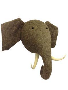 olifantenkop voor aan muur - Google zoeken