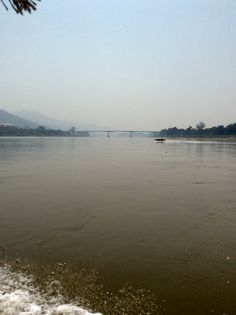 Bridge over the Mekong at Chiang Khong Bridge, River, Beach, Outdoor, Outdoors, The Beach, Bridges, Beaches, Bro