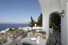 Beautiful Villa Anacapri with breathtaking sea views