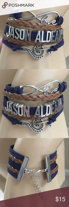 Jason Aldean Bracelet (new) Brand new in package, price firm unless bundled Jewelry Bracelets