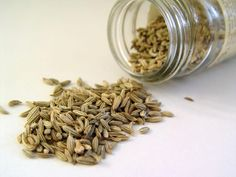 Fennel Seeds:   I was having a huge IBS attack then chewed on fennel.  The pain and bloating were almost gone immediately.  Long Story Short Factoid:  Fennel seeds aid in relaxing the muscles in your digestive tract, spasming in the intestines and help regulate the contractions of the small intestine, helping to regulate bowel movements. Great for who constipation too!