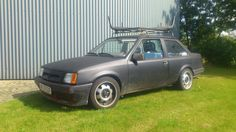 Opel Corsa TR. Lowered, Irmscher front and 7x15 ATS Cup wheels