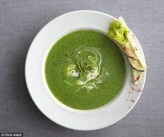 Recipe: Spinach soup with crème fraîche | Mail Online