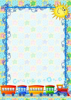 Coloring Pages, Education, Learning: Background Design Printables for Kids Kindergarten Borders For Paper, Borders And Frames, Printable Border, Boarder Designs, Kids Background, School Frame, Page Borders, Note Paper, Writing Paper