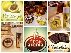 Bálsamos Labiales de Chocolate y Maracuyá Passion Fruit and Chocolate Lip Balm