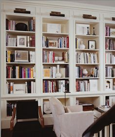 mobile a  muro libreria