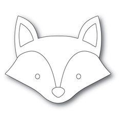 Simon Says Stamp BIG PICTURE BOOK FOX Wafer Dies s569 Stamptember Fox Stuffed Animal, Stuffed Animal Patterns, Fox Crafts, Felt Fox, Fox Pattern, Felt Patterns, Loom Patterns, Simon Says Stamp, Woodland Animals