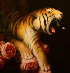 "El Hurgador [Arte en la Red]: Martin Wittfooth, ""Nocturno / Nocturne"" (detalle / detail)"