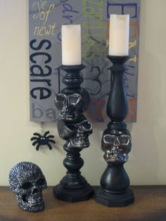 Candle Crafts to Make for Halloween