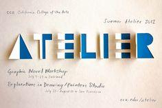 Design for CCA Summer Atelier Program designed by Sputnik student Deborah Lao