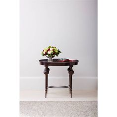 Villa Couture Adriana Lamp Table in Pomegranate - 510-75-13 - accent table - Living Room - Stanley Furniture