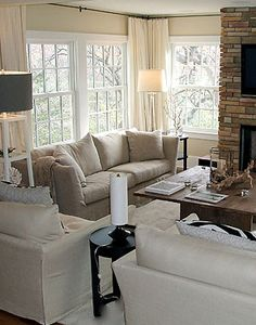 Lisa Sherry Interieurs | Interior Design ~ love the cream color