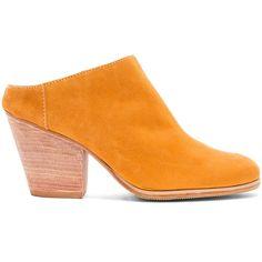 Rachel Comey Mars Mules (3.055 NOK) ❤ liked on Polyvore featuring shoes, rachel comey, slip on mules, rachel comey mules, high-heel mules and slip on mule shoes