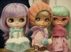 Tiny stitches! #knitting #blythe