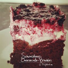 Cheesecake Brownies, Kakao, Desserts, Brownie Cheesecake, Schokolade, Dessert Ideas, Backen, Woman, Tailgate Desserts