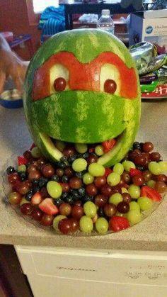 Ninja turtle watermelon