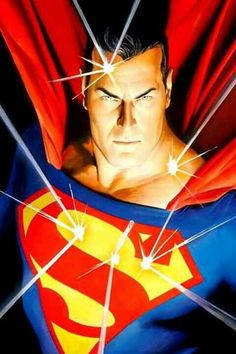 Alex Ross Superman - Tell me he doesn't realize that they're gods :)