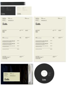 Dan Lane: Studio Unkle stationery