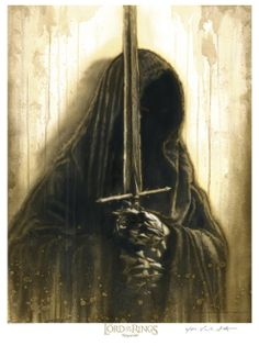 This Ringwraith piece is available in paper, or canvas Giclee.
