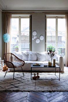 meu canto blog: Ideas de decoración: viviendas con toque de color