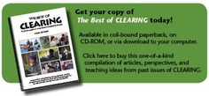 Gearing up for back-to-school? Planning great lessons for your classroom?  Check out Clearing's multitudes of resources. Then, share our pins with friends and colleagues to help us expand our reach!