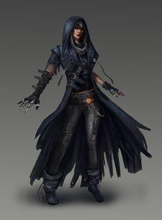 elf rogue pathfinder female - Google Search