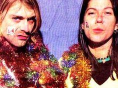 Kurt Cobain and Kim Deal