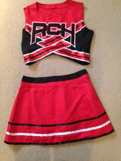 Womens/ladies Cheerleader Costume/outfit. Bring It On Style Size S (6-8) #Unbranded