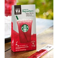 Grab a Coupon! Starbucks-VIA-Refreshers  Check out the latest on Free Stuff Finder.com