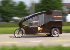 UPS testet Auslieferung mit E-Lastenrad in Basel - Pedelecs und E-Bikes
