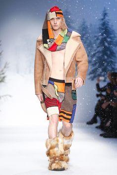 Moschino Menswear Fall Winter 2015 London