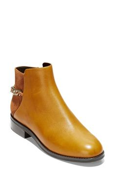 New Cole Haan Idina Bootie (Women) online - Theperfectclothing Leather Booties, Ankle Booties, Leather Sandals, Fashionable Snow Boots, Leather Mini Skirts, Desert Boots, Cole Haan Shoes, Women's Pumps, Shoe Boots