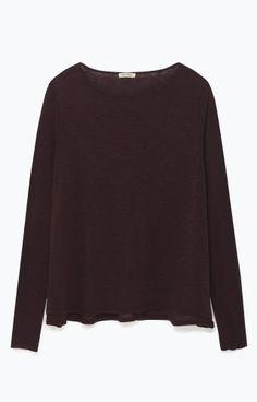 d959d6077b181 T-shirt femme en côte originale rayée
