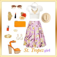 """St. Tropeu girl"" by lenkafen on Polyvore"