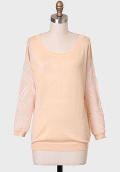 Mita Dori Embroidered Sweater at #Ruche @Ruche