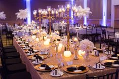 This celebration was filled with glamorous details reminiscent of the roaring twenties.