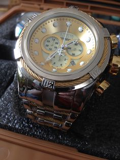 Invicta Reserve 52mm Bolt Zeus Swiss Made Chronograph Bracelet Model: 12746