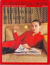 Architectural Digest Magazine March 2006 Hollywood Audrey Hepburn Cary Grant Ava Gardner Lana Turner