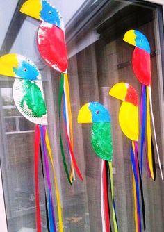 Ideas Bird Crafts Preschool Reading For 2019 Preschool Crafts, Fun Crafts, Crafts For Kids, Arts And Crafts, Kids Diy, Decor Crafts, Daycare Crafts, Toddler Crafts, Toddler Art