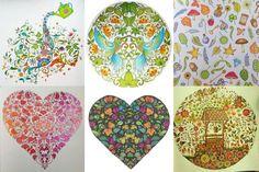 Johanna Basford - Livro para colorir - Floresta encantada, Jardim Secreto (12)