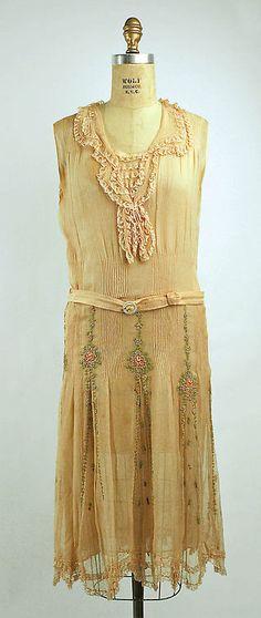 Afternoon dress 1928-1929 The Metropolitan Museum of Art