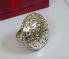 Vintage Ringe - 18,2 mm Nostalgischer Ring Silber 925 Design SR494 - ein Designerstück von Atelier-Regina bei DaWanda