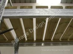 Galvanised pallet racking with tanilized timber decks Pallet Racking, Timber Deck, Storage Design, Decks, Lockers, Shelving, Entryway Tables, Projects, Furniture