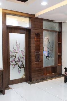 Gift Shop Interiors, Arch Gate, Modern Tv Wall Units, Tv Unit Decor, Wood Arch, Wooden Main Door Design, Room Partition Designs, Entrance Design, Interior Design