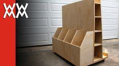 shop built rolling storage carts - Google Search