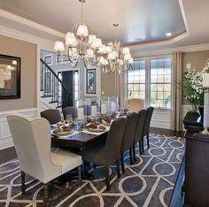Interior design ideas for dining room area.