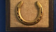 How to Restore, Preserve, and Frame a Keepsake Horse Shoe