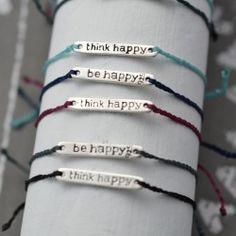 think happy - be happy