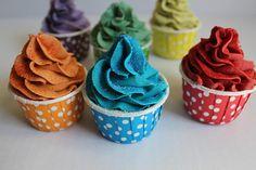 Frosted Bubble Bath Bomb Cupcake /  Sugar and Starch Free Bath